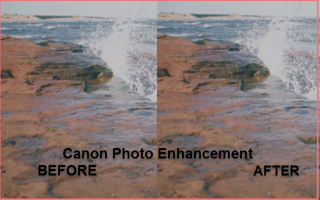 Photo Enhancement with Canon Scanners