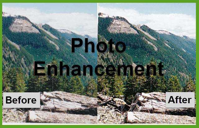 Enhance Scanned Photos