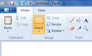 Use Windows Paint to Check Simple Scan Method