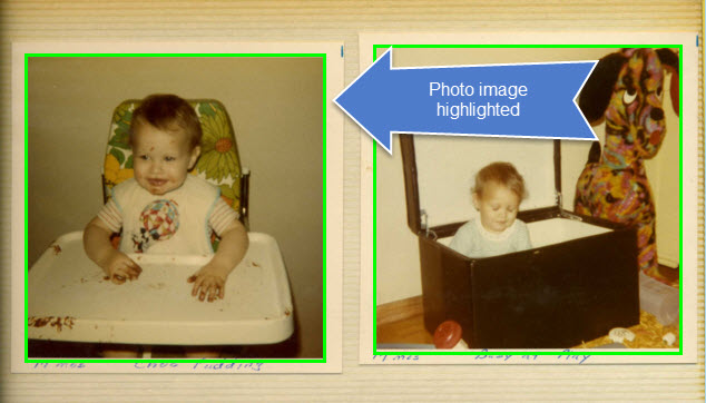 Batch Scan Multiple Photos with Borders