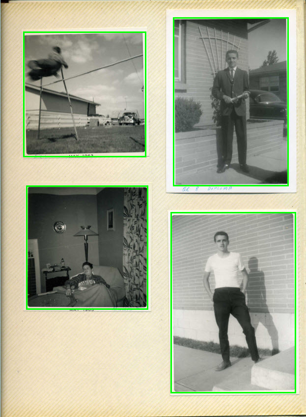 Scan Photos of Different Sizes and Borders