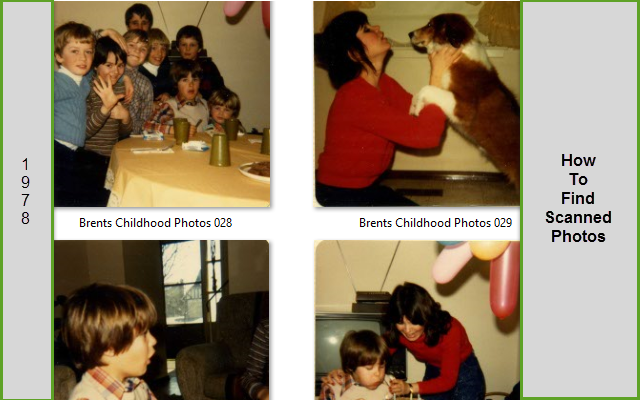 blog how to find scanned photos
