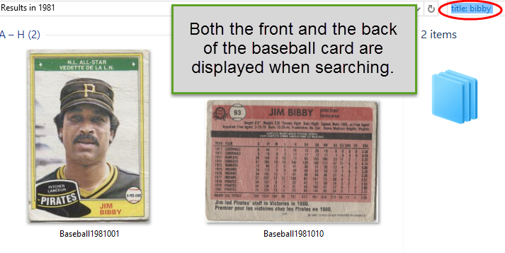 catalog sports cards