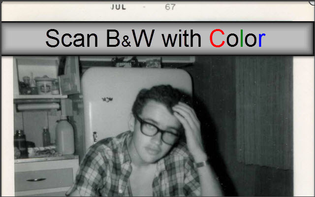Top 3 Reasons to Scan Black and White Photos in Color